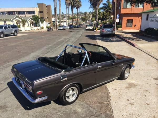 Daily Turismo: 5k: Roofless: 1971 Datsun 510 Convertible