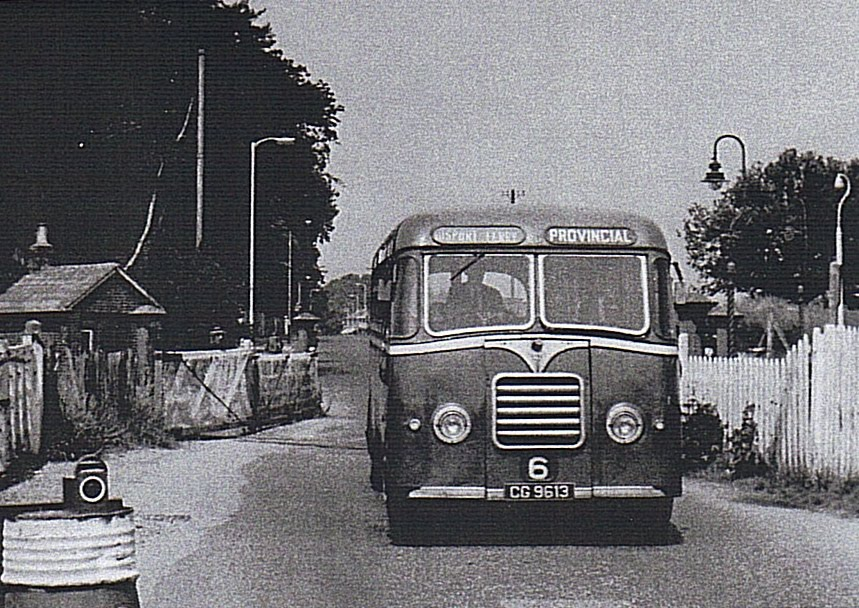 Bus in Military Road