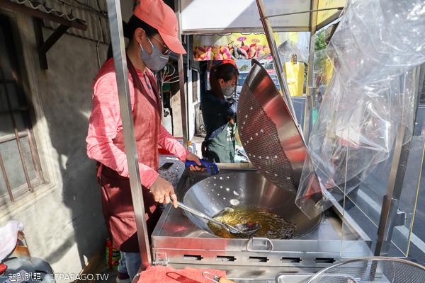 台中太平|小8三色地瓜球太平店|紅紫黃地瓜一顆地瓜球全滿足|全素可食