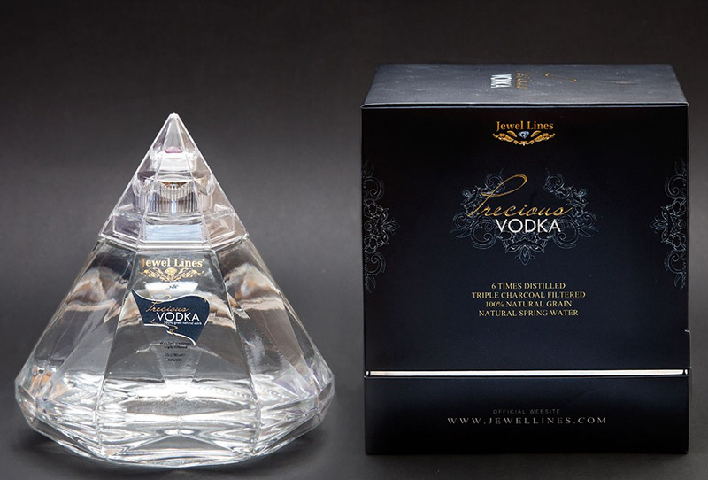 Precious Vodka Has A Real Gem In Every Diamond Shaped