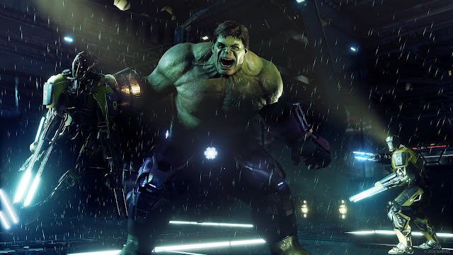 marvel's avengers second war table news update PS5, beta co-op gameplay, release date, hulk, hawkeye, easter eggs, teaser