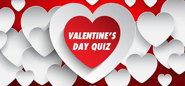 Valentine's Day Quiz  Quizdiva