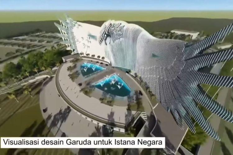 Warganet Ramai Kritik Desain Istana Baru di IKN: Kok Norak Ya!
