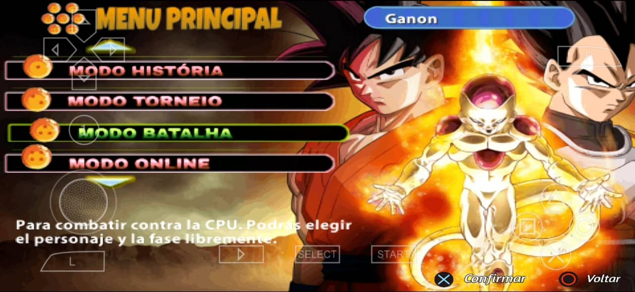 DBZ TTT Mod Download with Permanent Menu