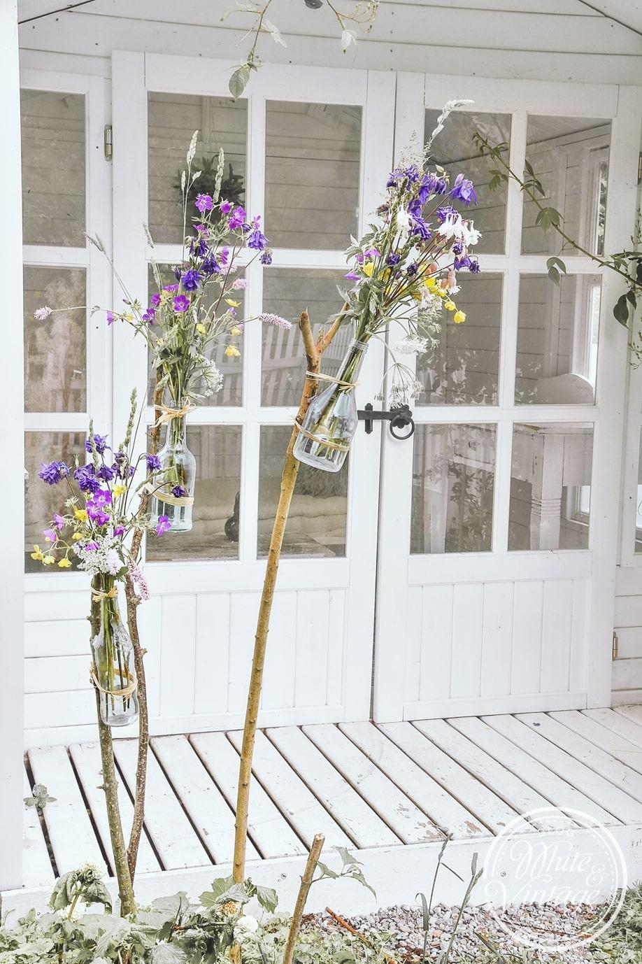 Dekorative Deko für den Garten selbermachen