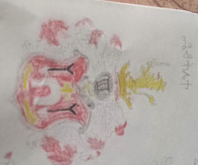 herby, legendy, dawne mity, marek derwich, marek cetwiński, heraldyka, ilustracje, rysunek, czerwień, podkowa z krzyżem, dwie strzały, lew z mieczem