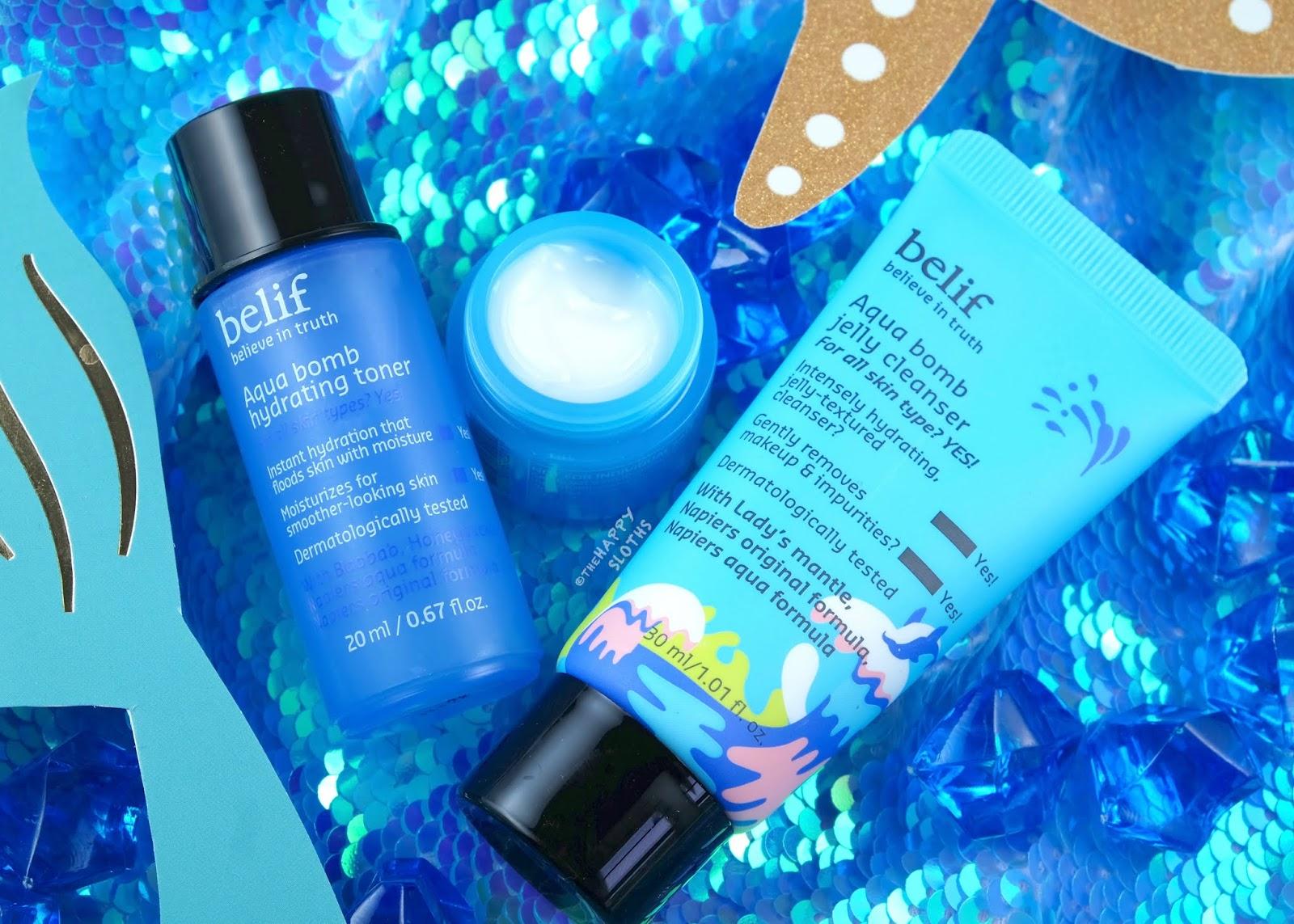Belif | Aqua Bomb Deep Hydration Set: Review