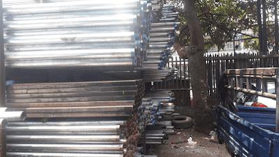Jasa Import Besi Baja Pipa ASTM Dari Shanghai-China Ke Jakarta Indonesia