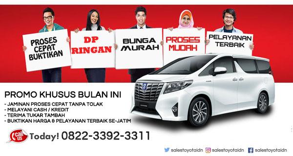 Price List Daftar Harga Toyota Surabaya