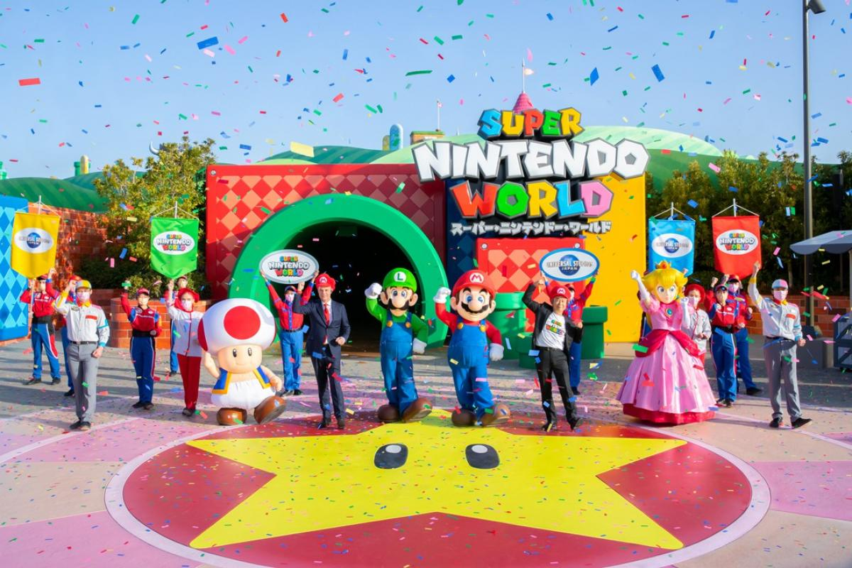 Super Nintendo World finally opens its doors in Japan - New images of its attractions and facilities