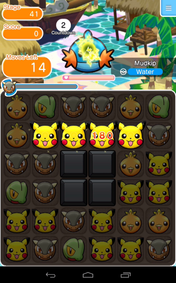 Pokemon Shuffle Mobile APK