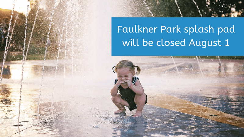Tyler's Faulkner Park Sprayground will close for repairs on August 1
