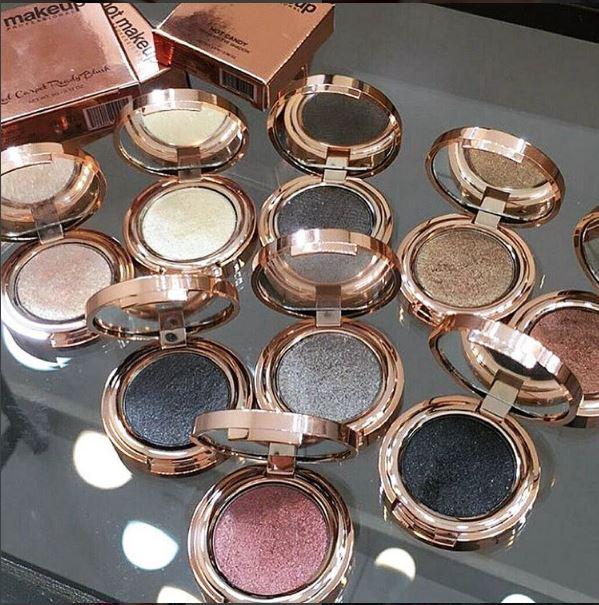 Hot Makeup sombras, maquiagem profissional no Brasil, sombras
