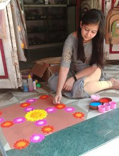 महालक्ष्मी पुजन के बाद नगर मे हुई रंगारंग आतिशबाजी, हर्षोल्लास के साथ मनाया गया दीपावली पर्व
