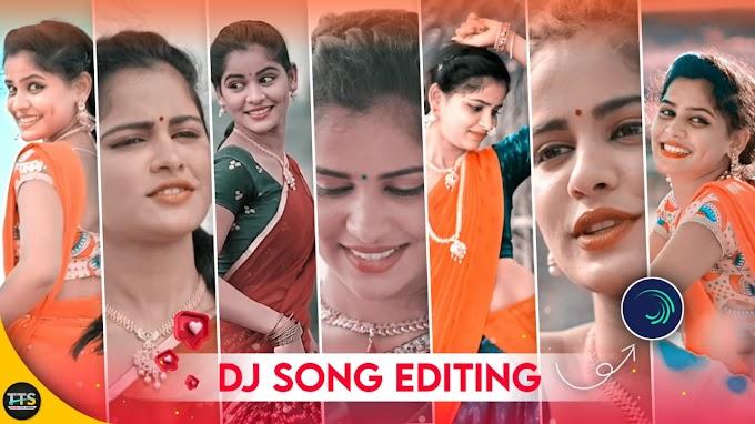 Dj song full screen status video editing using alight motion