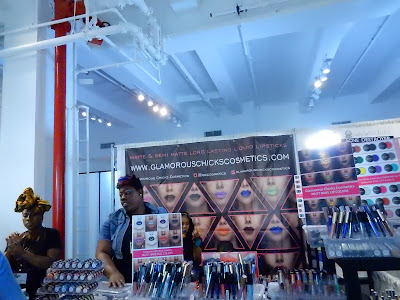 Glamour Chicks Cosmetics at The Makeup Show New York 2016 - www.modenmakeup.com