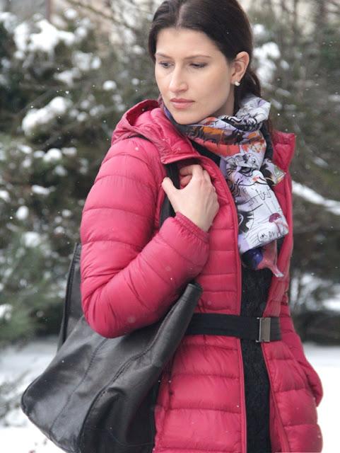 poznań streetstyle, puchówka, street style zima, kurtka puchowa, puchówka, novamoda style, co nosic zima, moda zima, co nosic zima, cosy style, comfy look, unqlo
