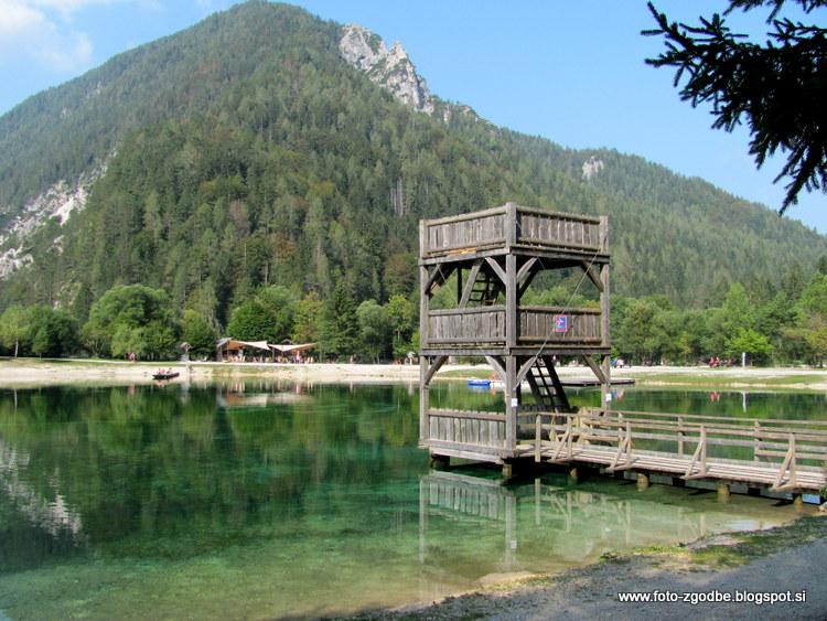 Slovenija, Kranjska Gora, jezero Jasna