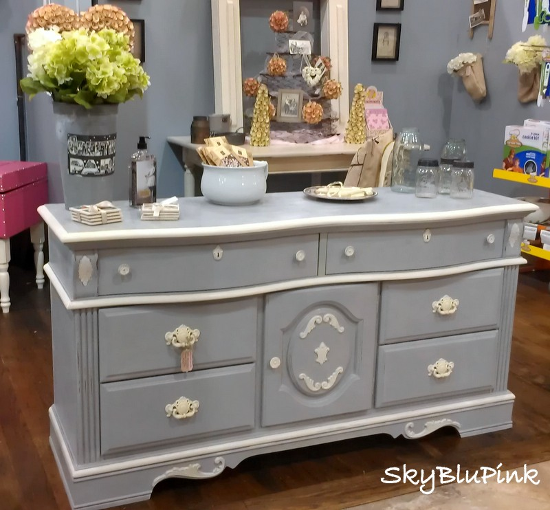 Annie Sloan Chalk Paint Sweet Dresser Paris Grey