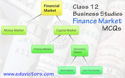 CBSE Class 12 - Business Studies - Financial Markets (MCQs) (#eduvictors)(#class12BusinessStudies)