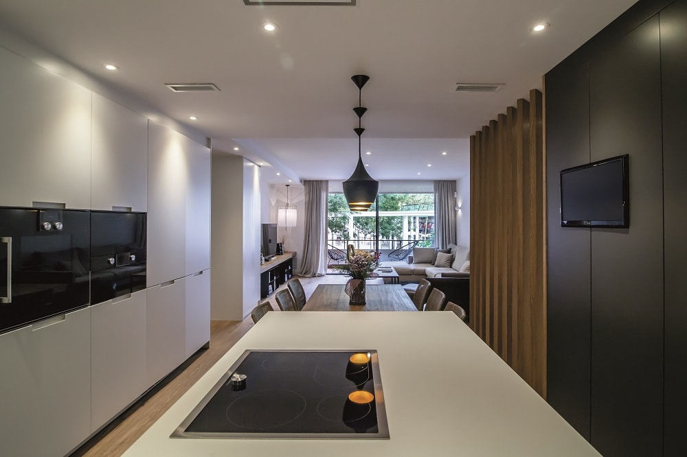 Colores neutros perfectos para integrar los ambientes - Disenadores de cocinas ...