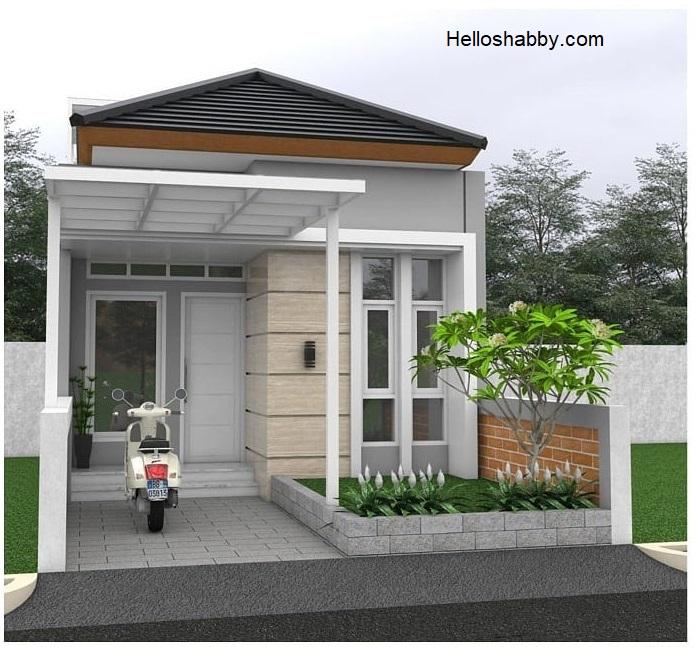 Desain Rumah Minimalis 5 X 12 M Dengan 2 Kamar Tidur Dan Desain Dapur Semi Terbuka Helloshabby Com Interior And Exterior Solutions