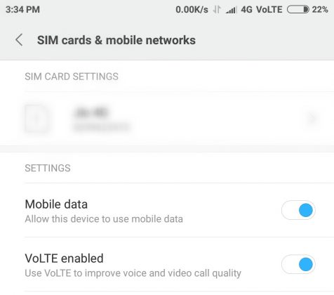 How To Enable VoLTE On Xiaomi Phones