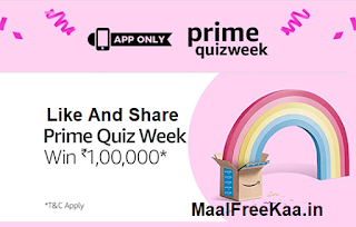 Prime Quiz Week 4 DAy Answer