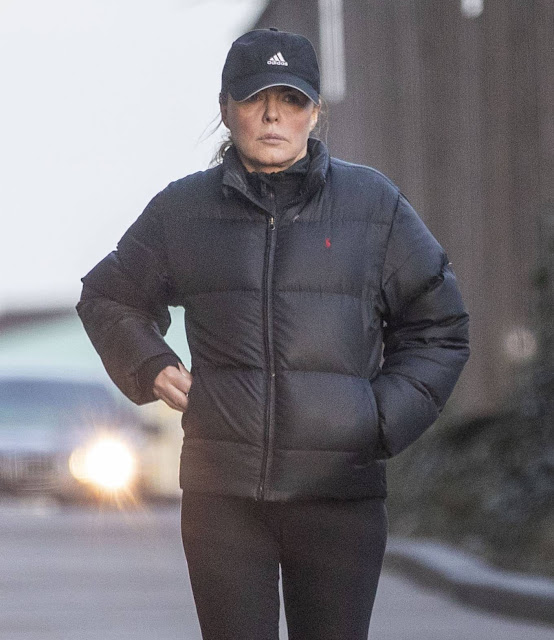 Patsy Kensit – Out and about in North London