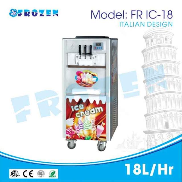 Máy làm kem cao cấp Frozen Tiện lợi - Tiết kiệm - 164935