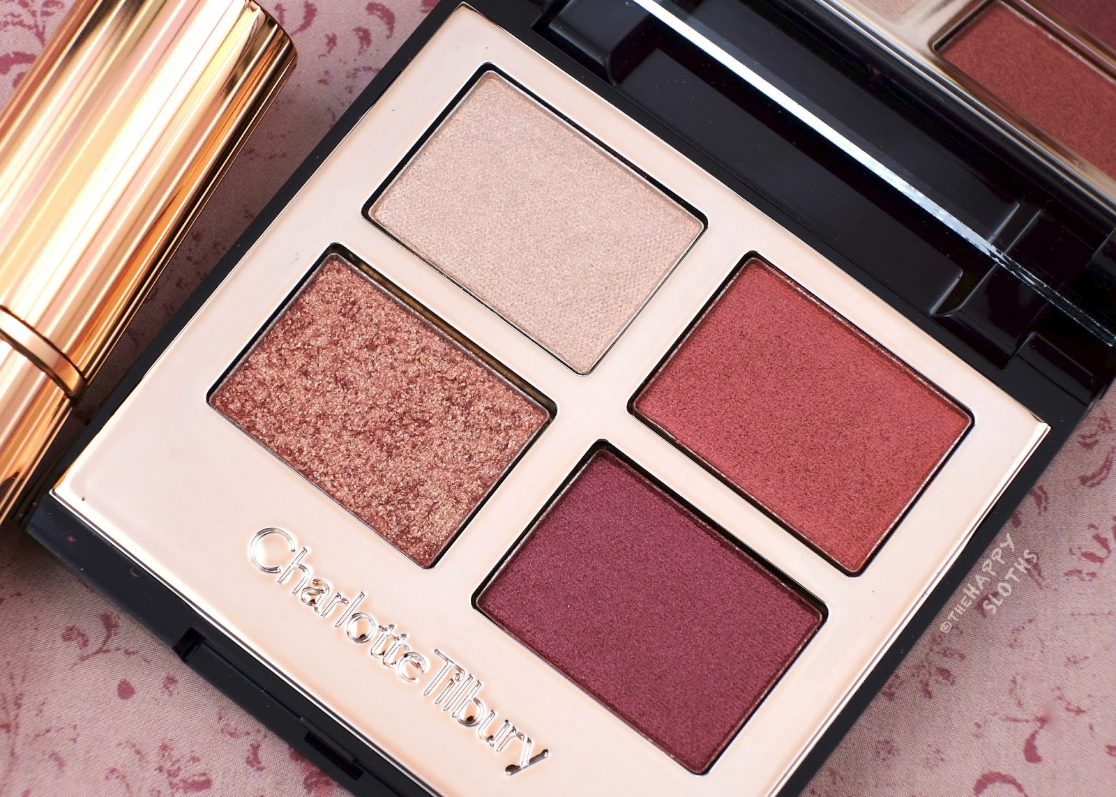 "Charlotte Tilbury | ""Walk of Shame"" Luxury Palette : Review and Swatches"