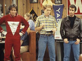 Happy Days, Robin Williams, Richie Cunningham, The Fonz