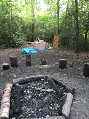 meonwood scout campsite campfire