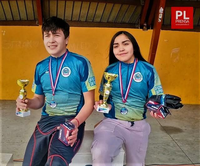 Juan Leiva y Rocío Guarda