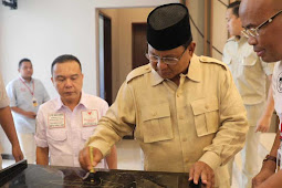 Prabowo Subianto Hadiri Peresmian Kantor DPD Gerindra Provinsi Banten