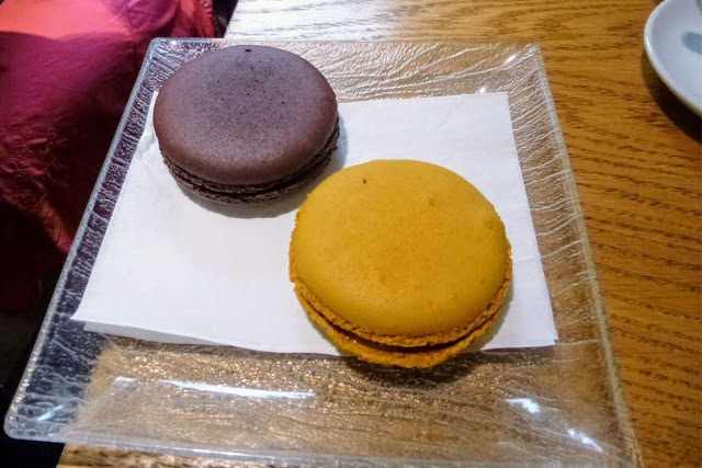 Giant macarons in Carcassonne
