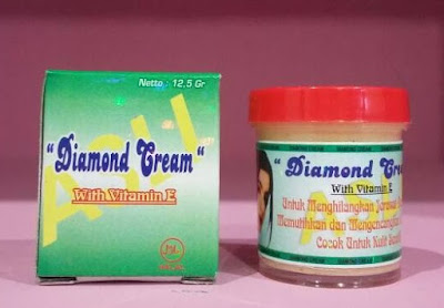 jual ciri ciri cream diamond asli vs palsu
