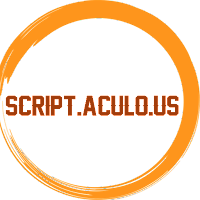 Learn Script.Aculo.Us Full