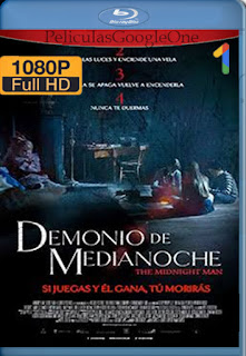 Demonio de medianoche (The Midnight Man) (2016) [1080p BRrip] [Latino-Inglés] [LaPipiotaHD]