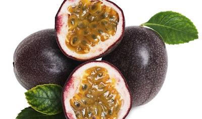 Fruta exótica maracuya