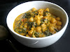 Chana Palak (Spicy Chickpeas and Spinach)