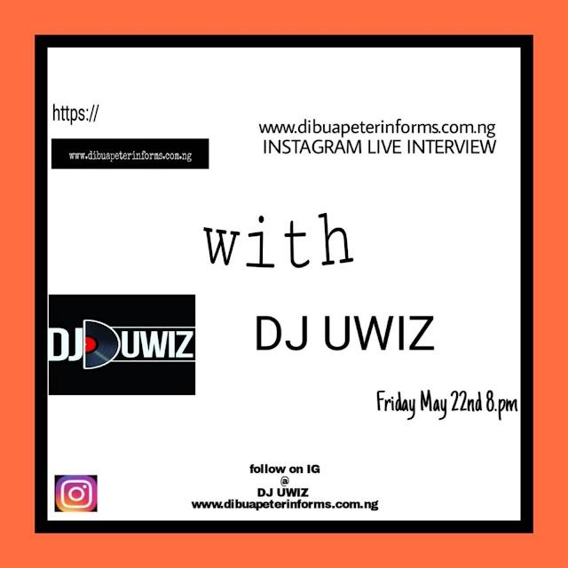 Instagram Live with DJ UWIZ