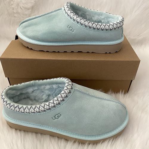 UGG Tasman slippers aqua mint