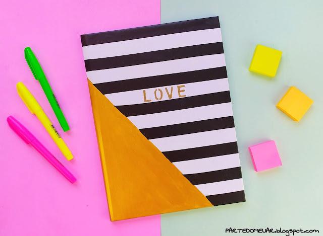 cadernos customizados