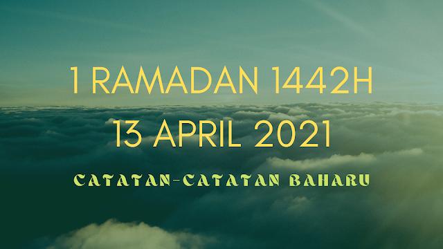 1 Ramadan 1442H
