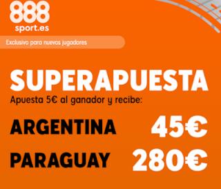888sport superapuesta copa america argentina vs paraguay 20 junio 2019