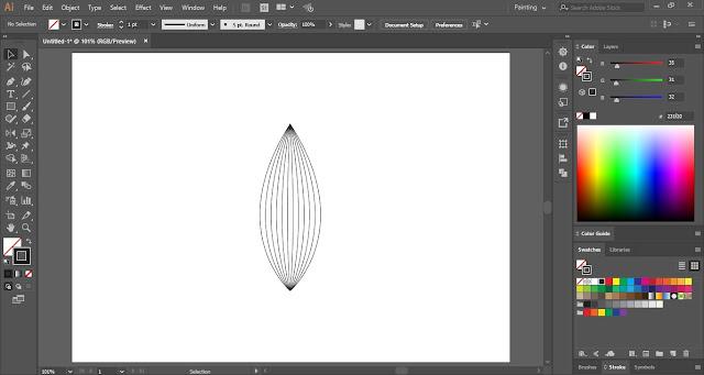 Linocut Effect in Adobe Illustrator