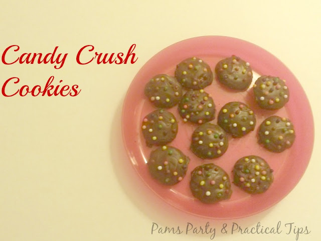 Easy Candy Crush Chocolate Bomb Cookies