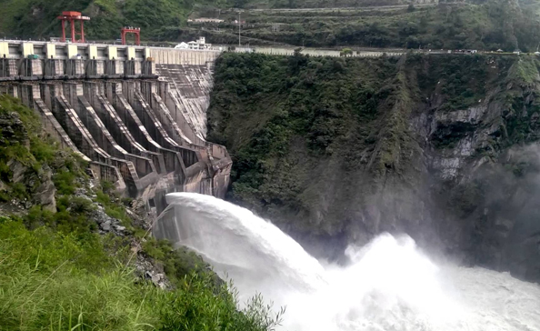 Tourist attraction Chamera Dam Dalhousie