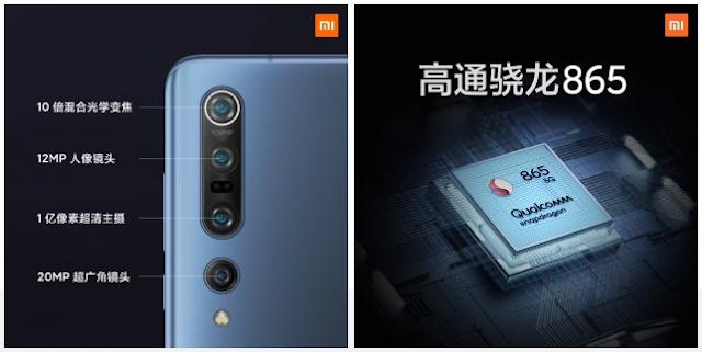 Xiaomi Mi 10 dan Mi 10 Pro kaya fitur kamera 108 MP, Snapdragon 865